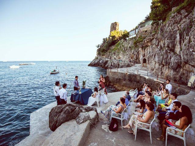 Il matrimonio di Guillerme e Mayara a Praiano, Salerno 40