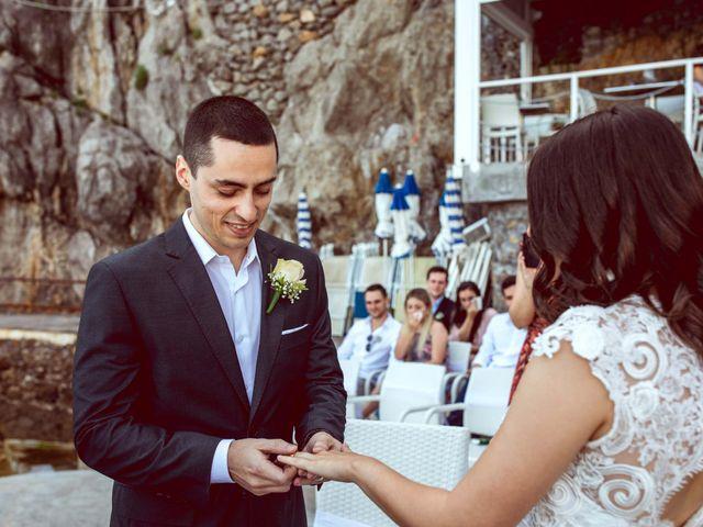 Il matrimonio di Guillerme e Mayara a Praiano, Salerno 41