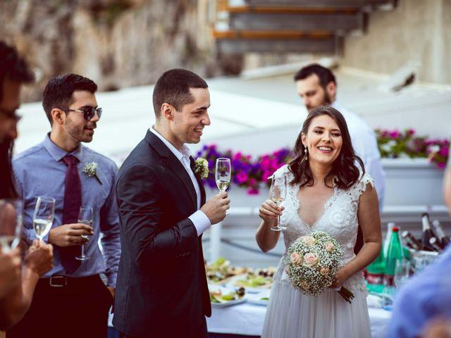 Il matrimonio di Guillerme e Mayara a Praiano, Salerno 45