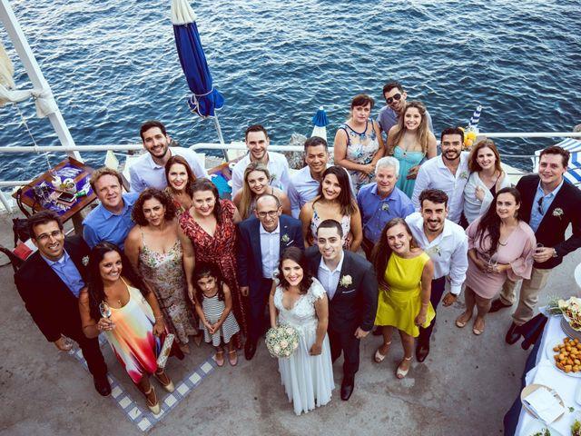 Il matrimonio di Guillerme e Mayara a Praiano, Salerno 46