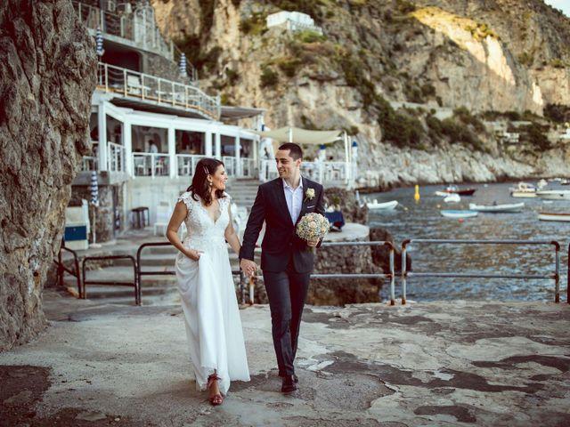 Il matrimonio di Guillerme e Mayara a Praiano, Salerno 49
