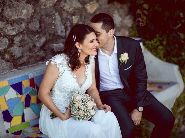 Il matrimonio di Guillerme e Mayara a Praiano, Salerno 52