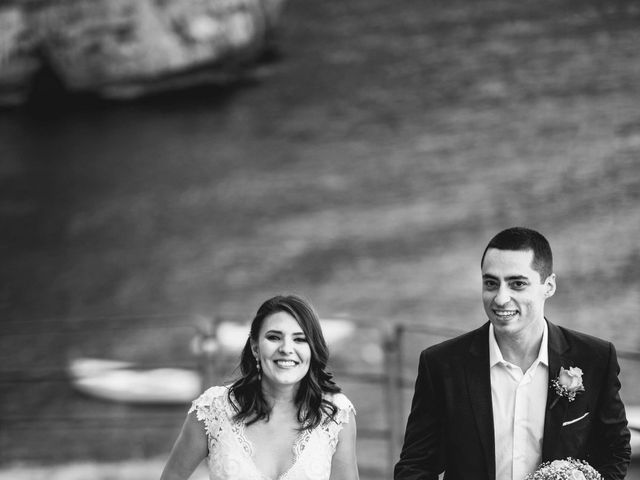 Il matrimonio di Guillerme e Mayara a Praiano, Salerno 59