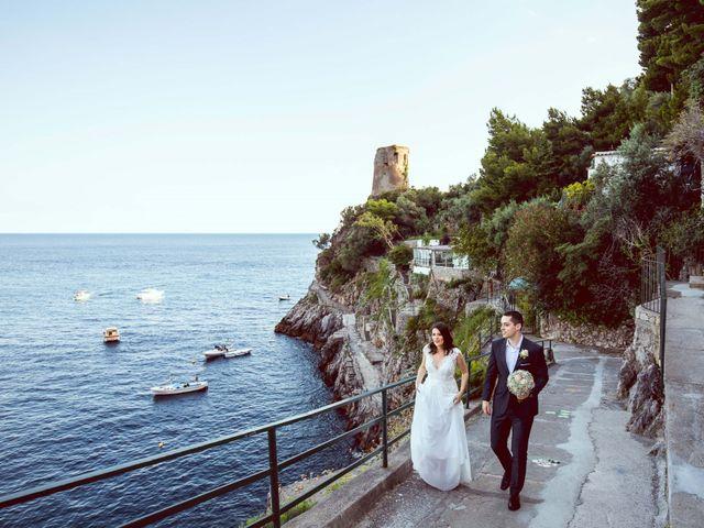 Il matrimonio di Guillerme e Mayara a Praiano, Salerno 61