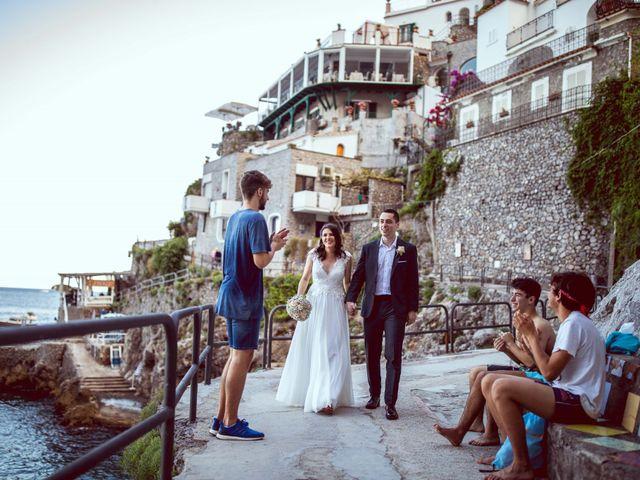 Il matrimonio di Guillerme e Mayara a Praiano, Salerno 79