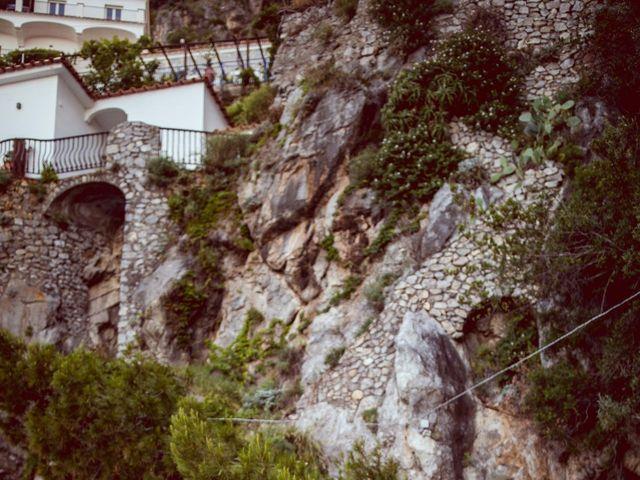 Il matrimonio di Guillerme e Mayara a Praiano, Salerno 81