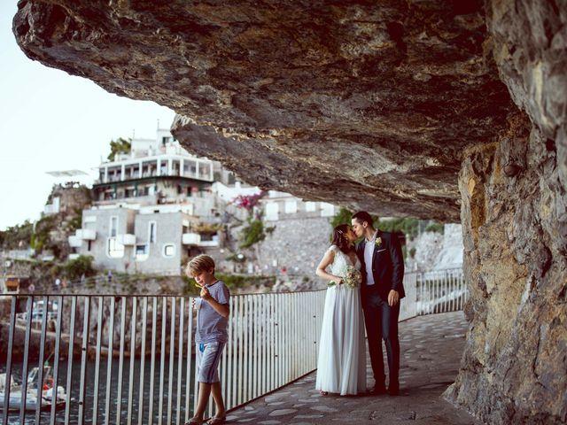 Il matrimonio di Guillerme e Mayara a Praiano, Salerno 84