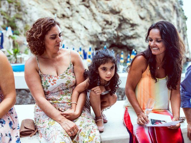 Il matrimonio di Guillerme e Mayara a Praiano, Salerno 88