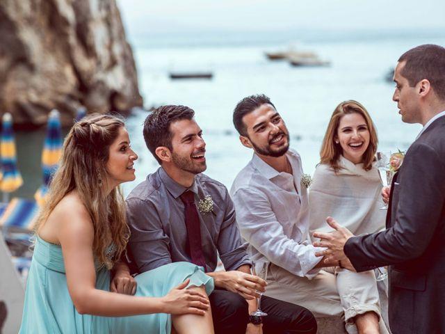 Il matrimonio di Guillerme e Mayara a Praiano, Salerno 89