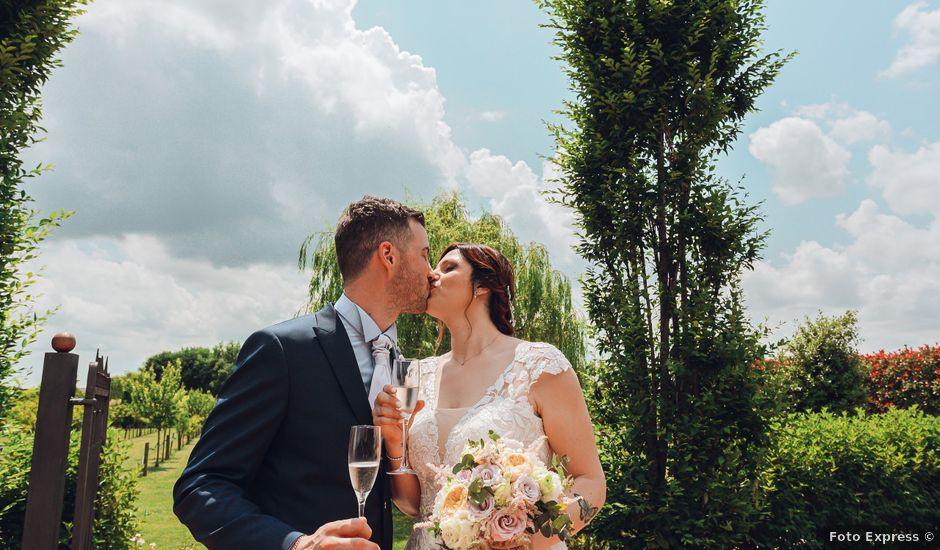 Il matrimonio di Federico e Allison a Ceregnano, Rovigo