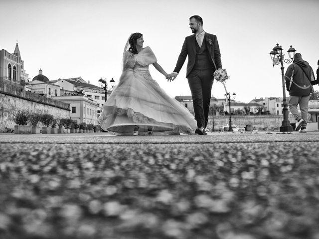 le nozze di Maria Antonietta e Luca