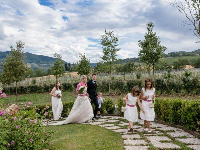 Il matrimonio di Andrea e Marzia a Nibbiano, Piacenza 15