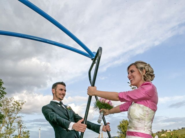 Il matrimonio di Andrea e Marzia a Nibbiano, Piacenza 25