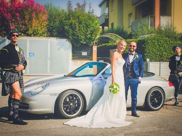 Il matrimonio di Marco e Dominique a Pastrengo, Verona 20