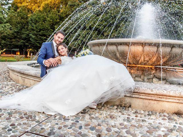 Il matrimonio di Gabriele e Francesca a Rovato, Brescia 280