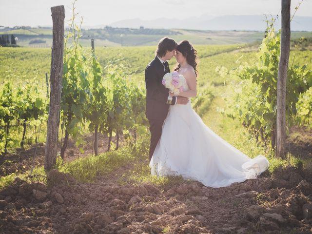 le nozze di Letizia e Simone