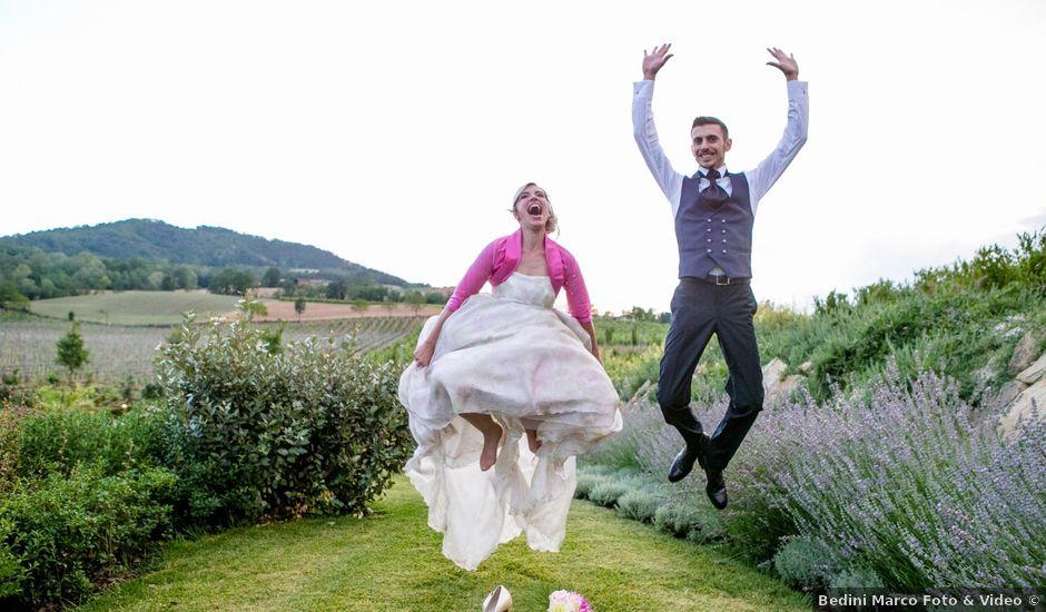 Il matrimonio di Andrea e Marzia a Nibbiano, Piacenza