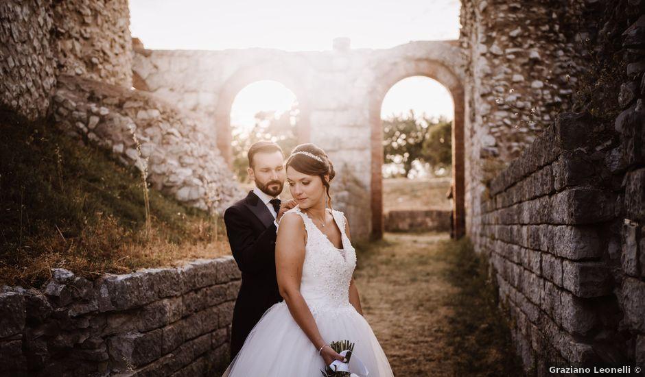 Il matrimonio di Agon e Linda a Gubbio, Perugia