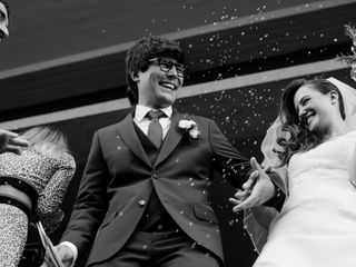 Le nozze di Santiago e Paola