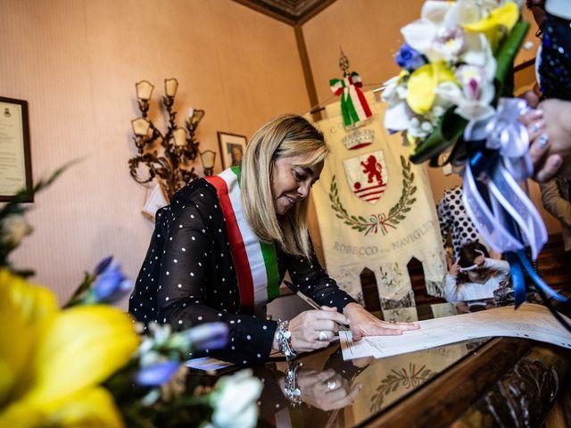 Il matrimonio di Fabio e Cristina a Robecco sul Naviglio, Milano 113