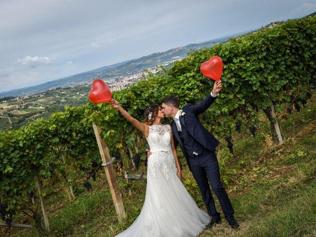 le nozze di Daniela e Alessandro