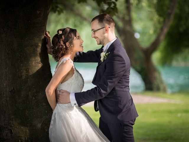 Il matrimonio di Matteo e Rosita a Gaggiano, Milano 28