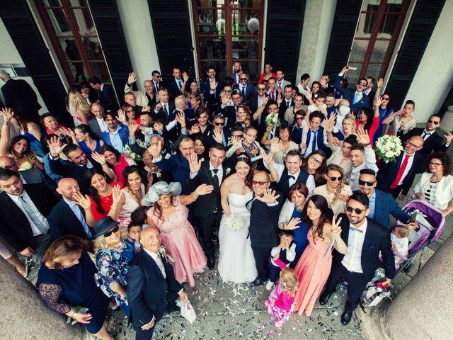 Il matrimonio di Simone e Stefania a Brescia, Brescia 38