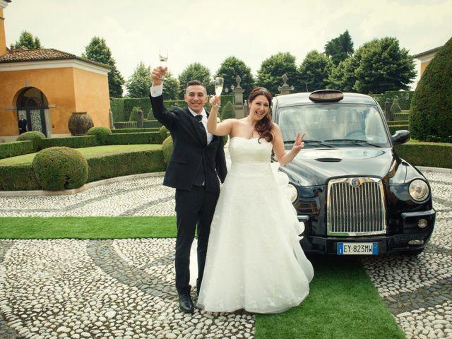 Il matrimonio di Simone e Stefania a Brescia, Brescia 42