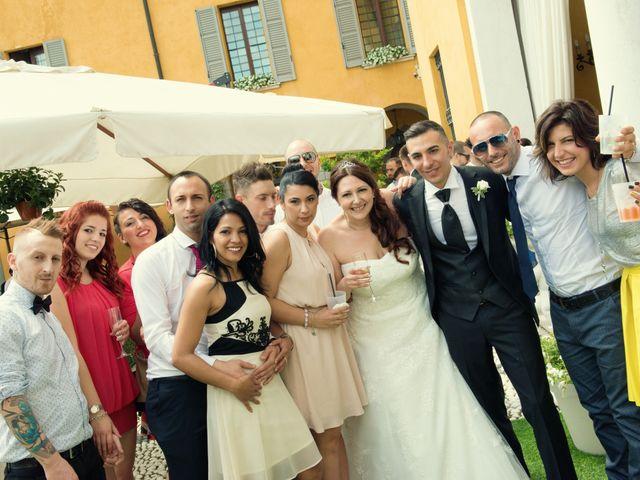 Il matrimonio di Simone e Stefania a Brescia, Brescia 44