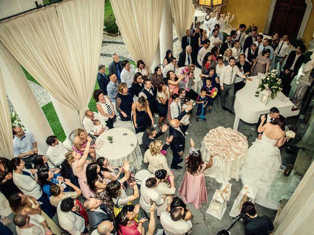 Il matrimonio di Simone e Stefania a Brescia, Brescia 53