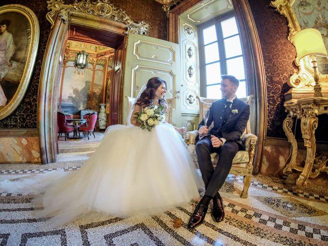 Il matrimonio di Riccardo e Claudia a Stezzano, Bergamo 41