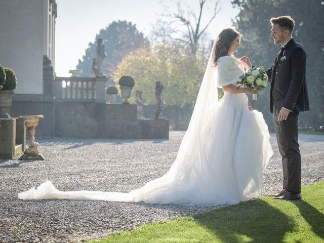 Il matrimonio di Riccardo e Claudia a Stezzano, Bergamo 49