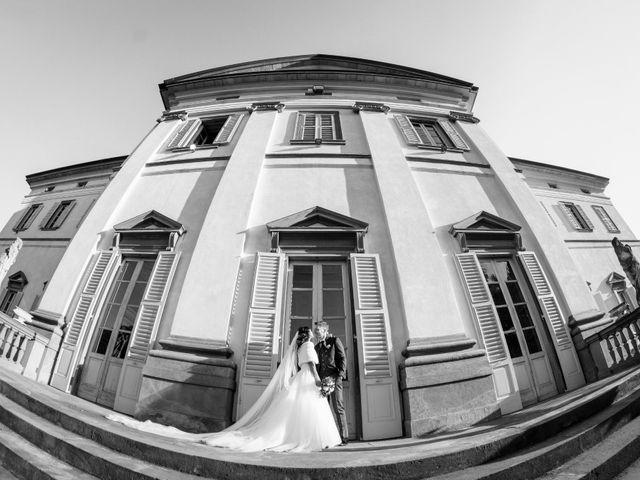 Il matrimonio di Riccardo e Claudia a Stezzano, Bergamo 57