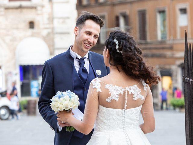 Il matrimonio di Giulia e Claudio a Castel del Piano, Perugia 8