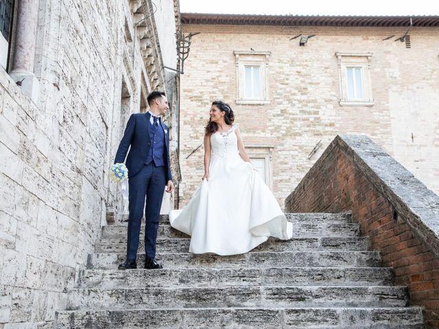 Il matrimonio di Giulia e Claudio a Castel del Piano, Perugia 10
