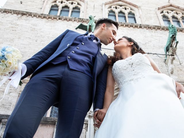 Il matrimonio di Giulia e Claudio a Castel del Piano, Perugia 11