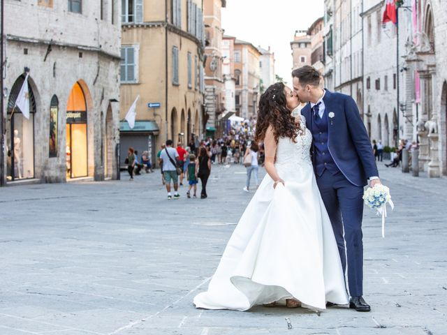 Il matrimonio di Giulia e Claudio a Castel del Piano, Perugia 12