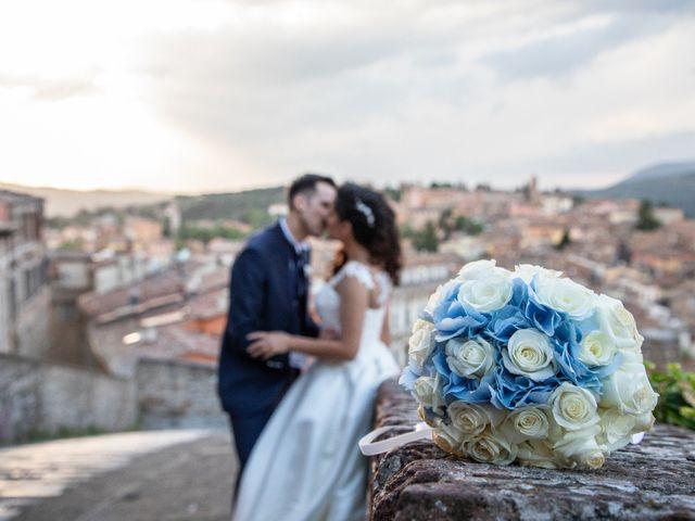 Il matrimonio di Giulia e Claudio a Castel del Piano, Perugia 14