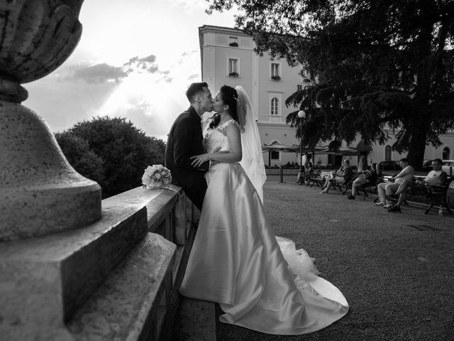 Il matrimonio di Giulia e Claudio a Castel del Piano, Perugia 1
