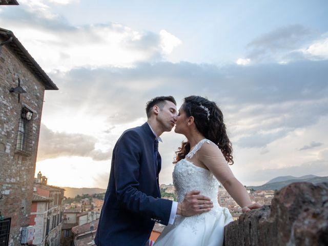 Il matrimonio di Giulia e Claudio a Castel del Piano, Perugia 2