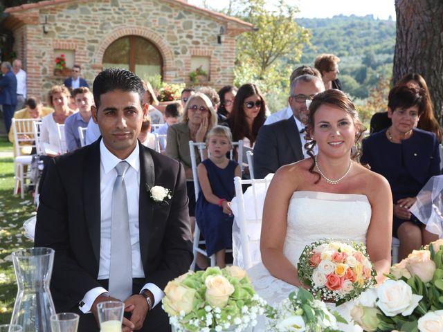 Il matrimonio di Tamer e Alice a Monte San Savino, Arezzo 7