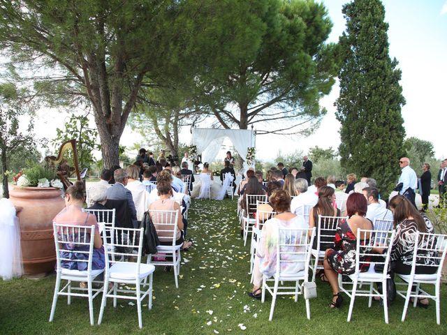 Il matrimonio di Tamer e Alice a Monte San Savino, Arezzo 9