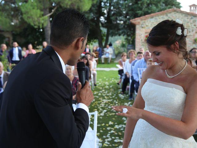 Il matrimonio di Tamer e Alice a Monte San Savino, Arezzo 10