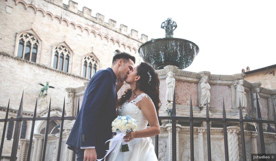 Il matrimonio di Giulia e Claudio a Castel del Piano, Perugia