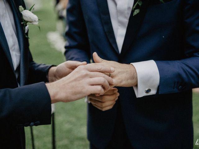 Il matrimonio di Daniele e Valerio a Canale Monterano, Roma 11