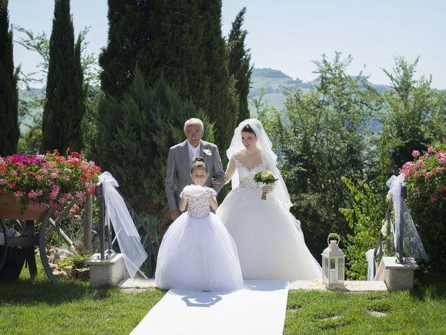 Il matrimonio di Marco e Erica a Torre San Patrizio, Fermo 32