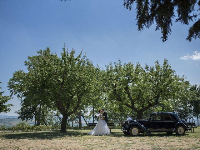 Il matrimonio di Marco e Erica a Torre San Patrizio, Fermo 50