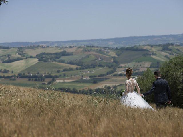 Il matrimonio di Marco e Erica a Torre San Patrizio, Fermo 53