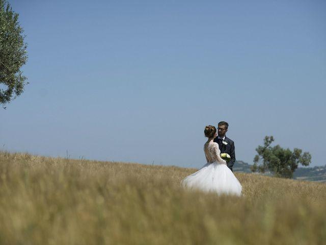 Il matrimonio di Marco e Erica a Torre San Patrizio, Fermo 54