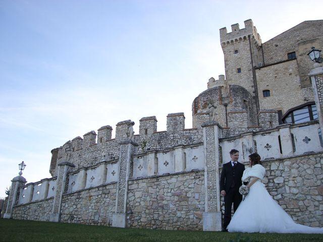 Il matrimonio di Vince e Francesca a Nerola, Roma 1